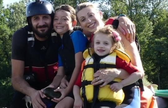 Canoa in famiglia